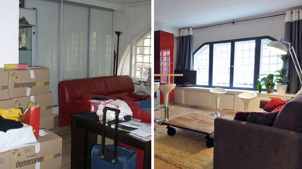 Avant / Après : rénovation d\'un appartement parisien de 80m2 ...