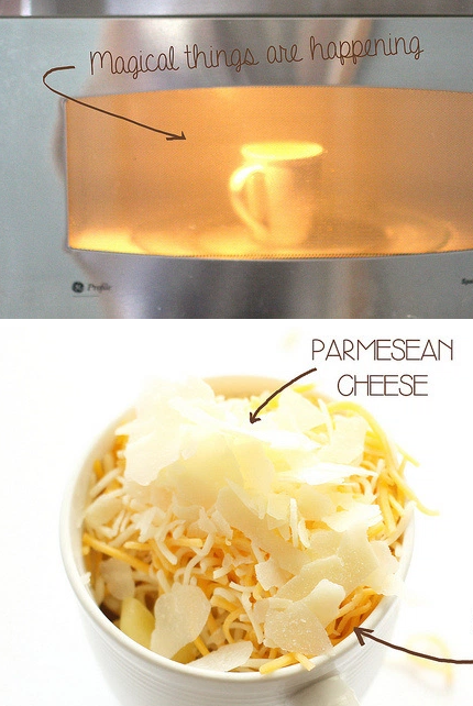 how to make food in microwave