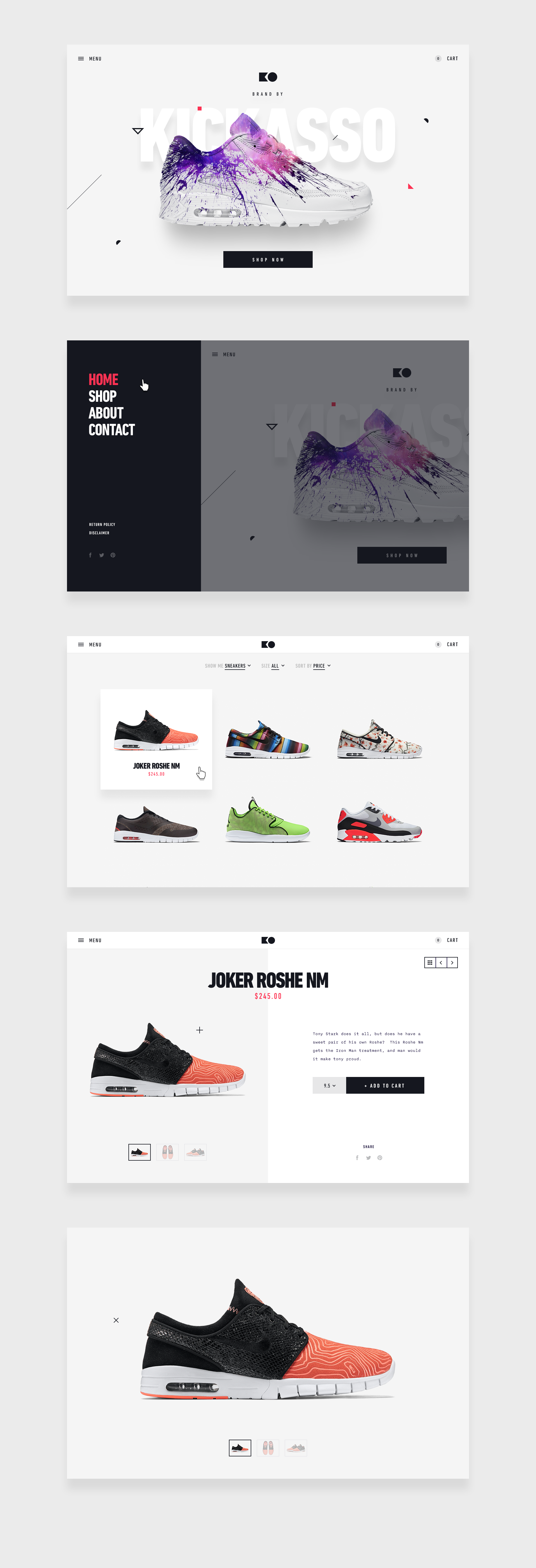Moaaar comps of this sweet ecommerce baby.  Follow our @STRV team profile for more!