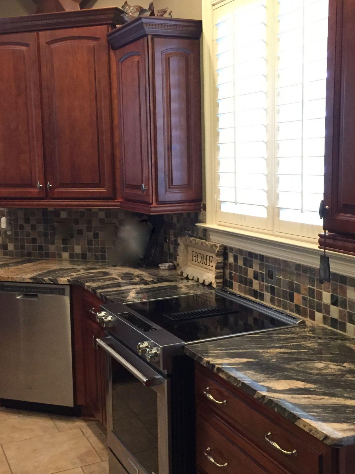 50+ African Granite Countertops - Backsplash for Kitchen Ideas Check on kitchens with oak trim, kitchens with oak floors, kitchens with oak cabinets,