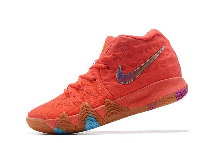 Blue basketball shoes, Nike kyrie
