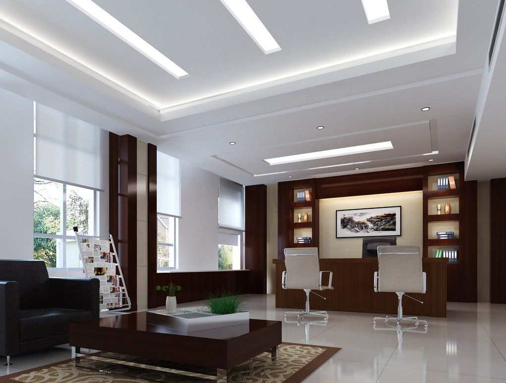General manager office interior design manager office for Beautiful modern office design