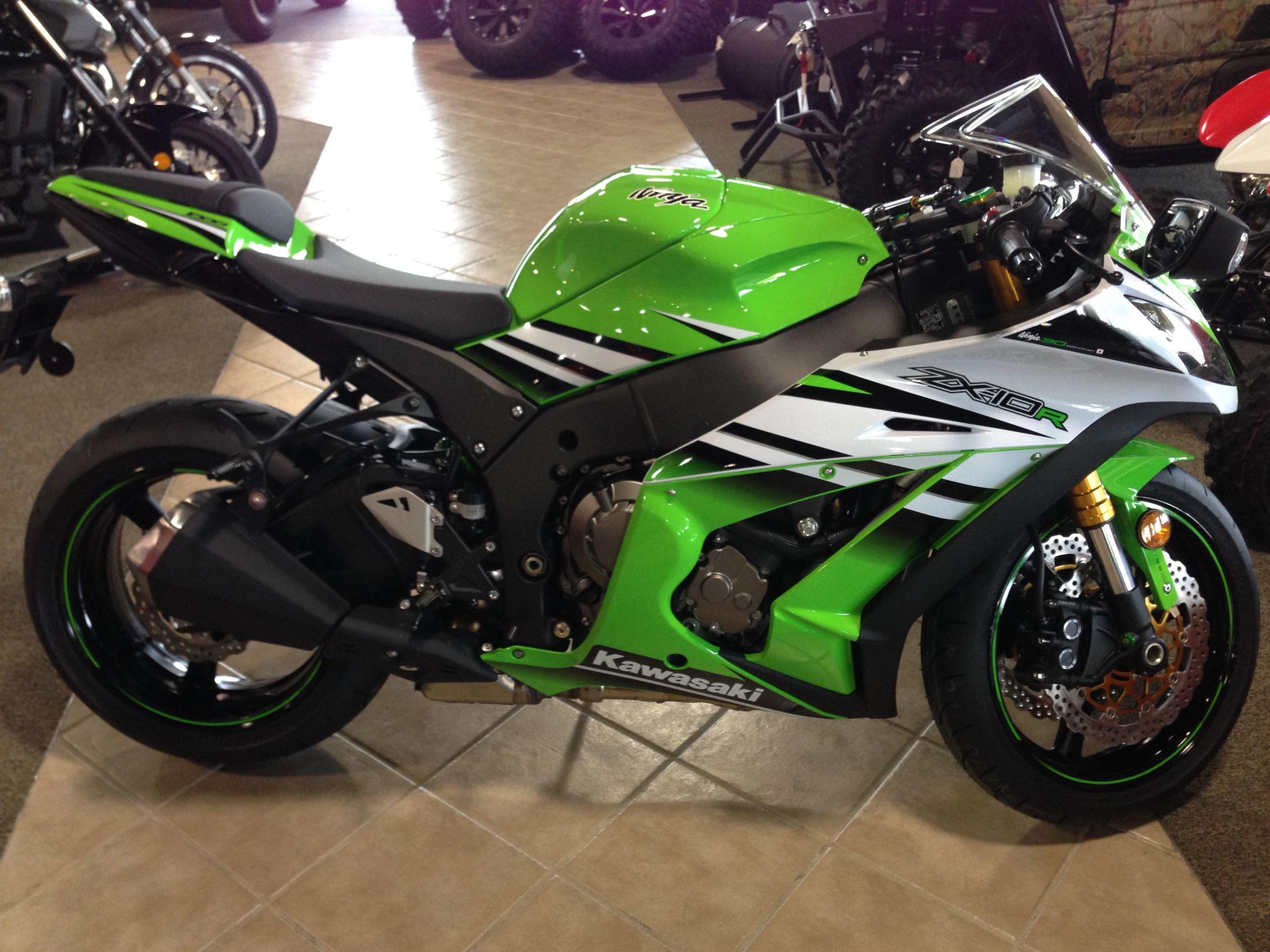 2015 Kawasaki ZX10R 30th anniversary edition  www dalesfuncenter com