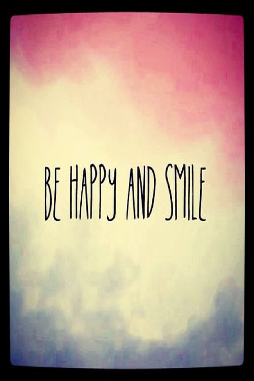 Be happy and smile life quotes quotes quote life life lessons