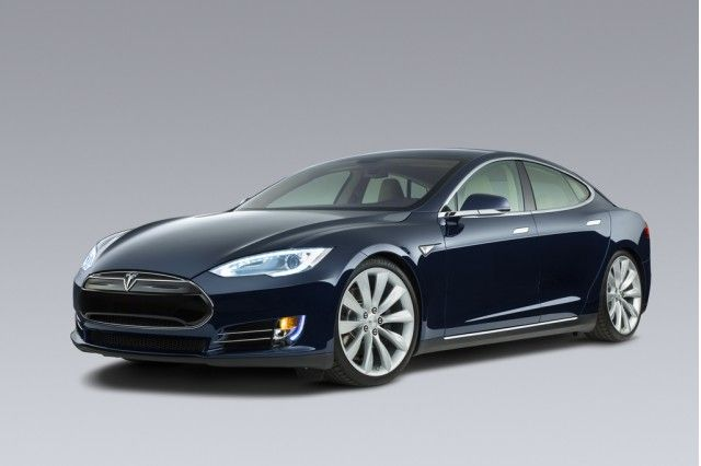 Tesla Model S (blue) | cars and more | Pinterest