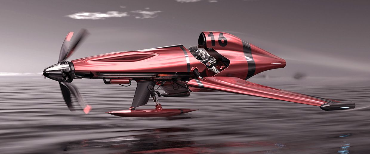 Schneider Trophy Seaplane Concept By Vincent Schmid Cars