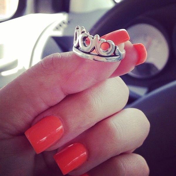 James Avery Princess Crown Ring March 2017