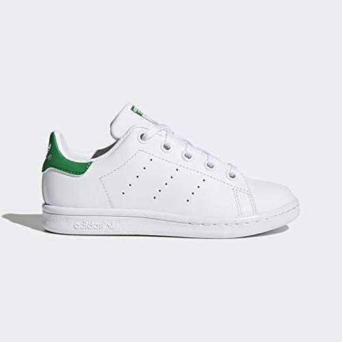 Photo of adidas Originals Kids' Stan Smith Sneaker, Footwear White/Footwear – CloutShoes.com