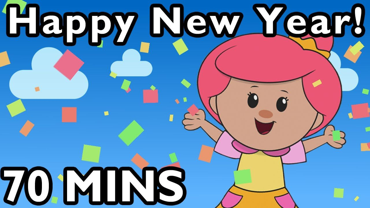 Happy new year christmas songs and more nursery rhymes from mother