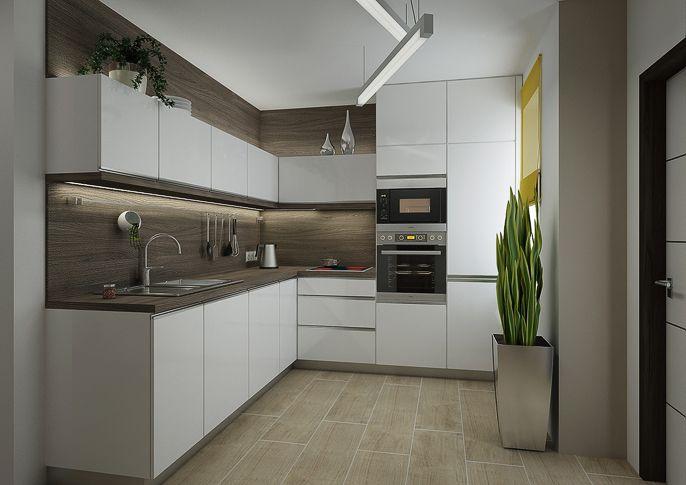 Rd Rekonstrukce Atak Design Modern Kitchen Kitchen Room Design Kitchen Design Small