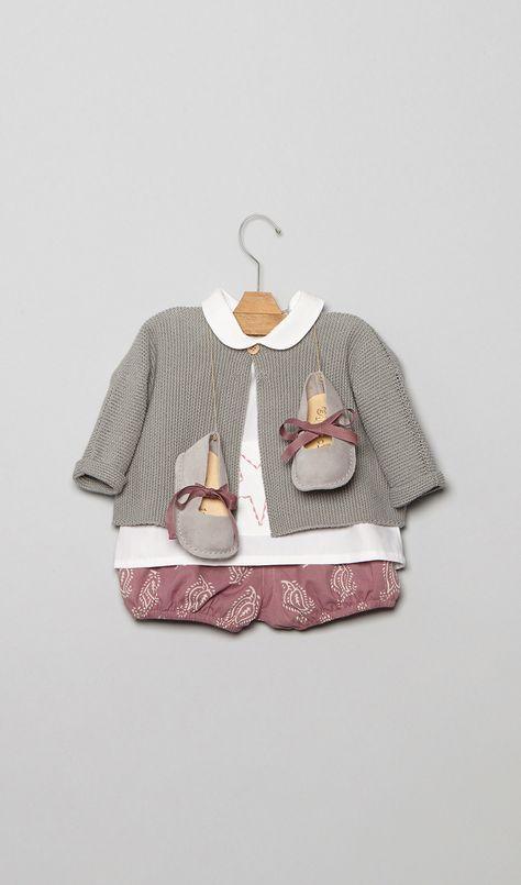 Conjuntos para bebé en la Tienda Online Nícoli Nicoli L1601019-bb Bebe