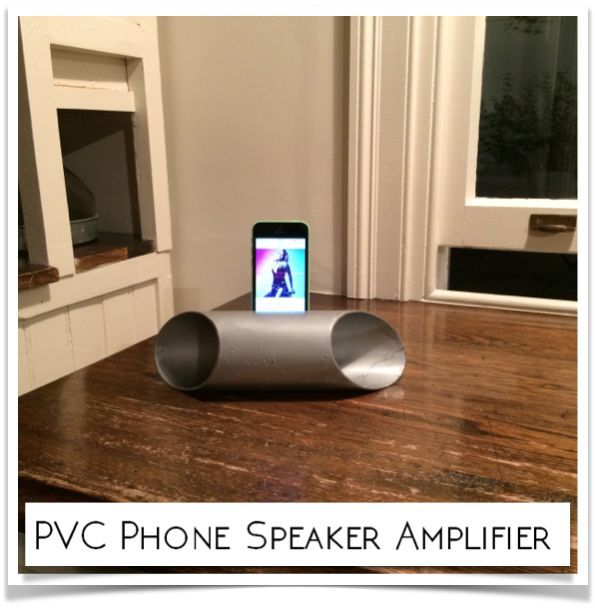 Picture of PVC Phone Speaker Amplifier