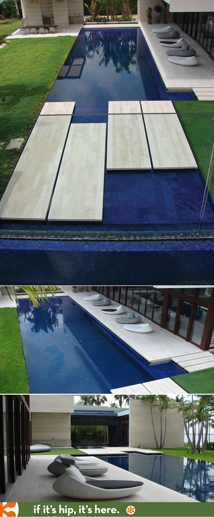 Beautiful Modern Pool Design By Aquatic Consultants Inc
