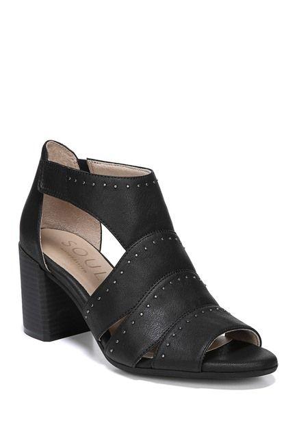 46ab967022 SOUL Naturalizer | Christina Embellished Block Heel Sandal - Wide Width  Available | Nordstrom Rack