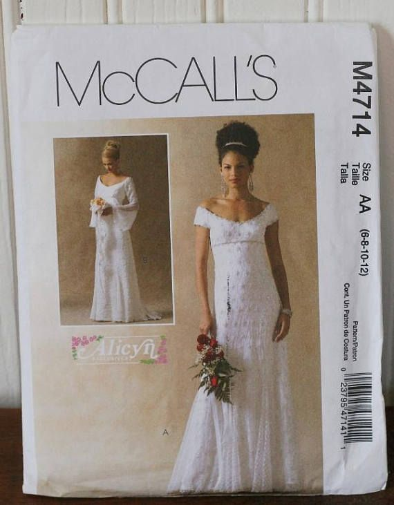 McCalls M4714 Wedding Dress Pattern | Sewing Sewing and more Sewing ...