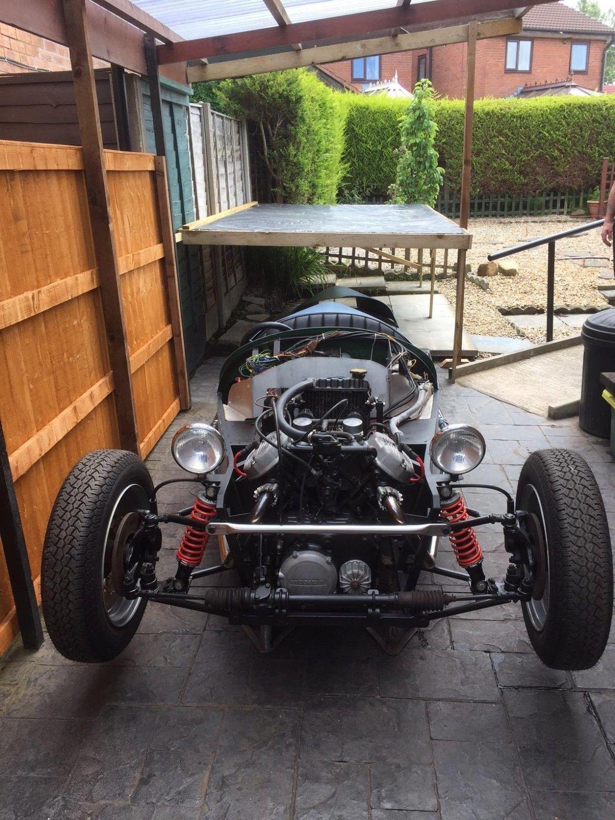 honda cx500 reverse trike. Jzr . morgan . kit car. unfinished project