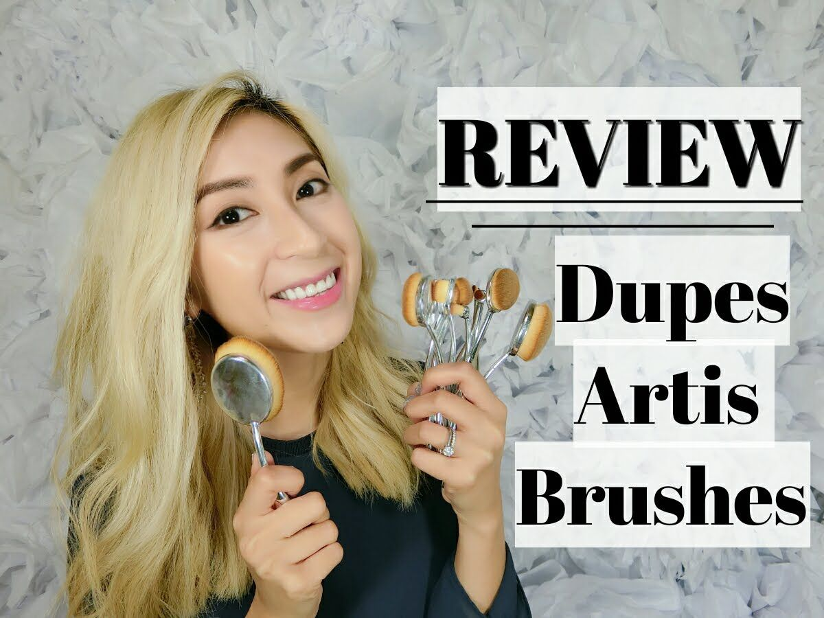 ARTIS DUPE BRUSHES Review & Demo My Makeup Brush Set