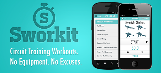 Introducing Our New Partner Sworkit! Best workout apps