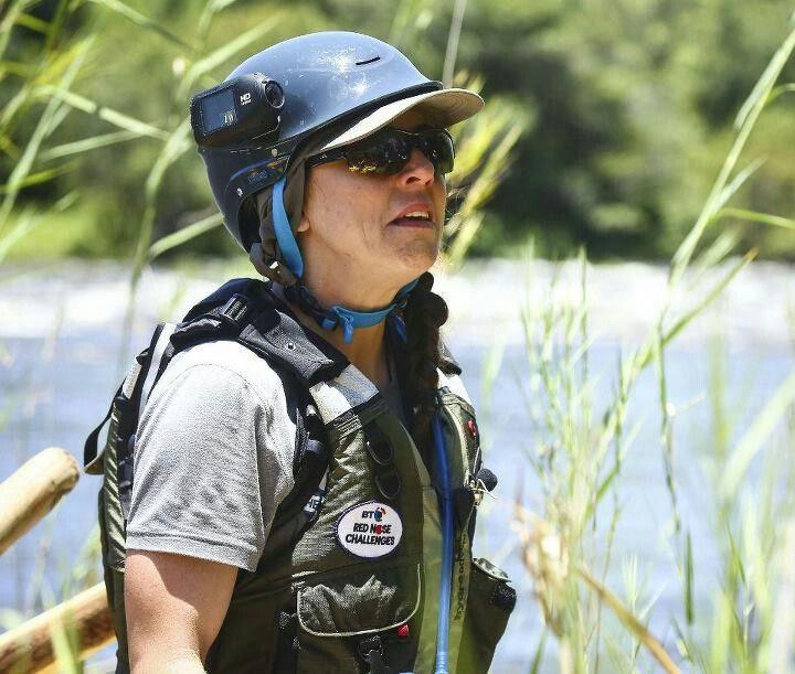 Melanie c capsized during the zambezi challenge