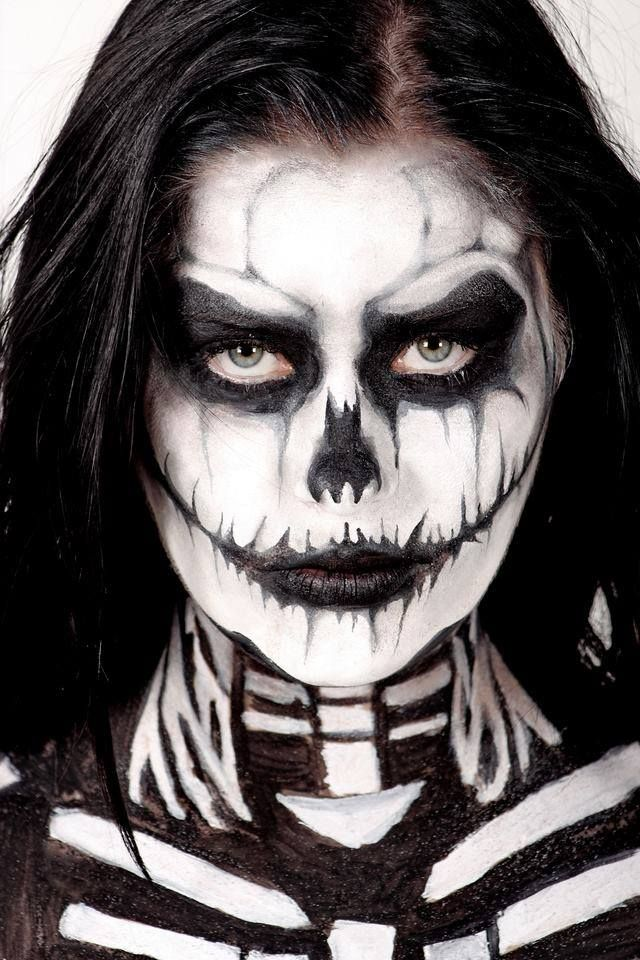 Skeleton girl by NinaBlackAngel on DeviantArt