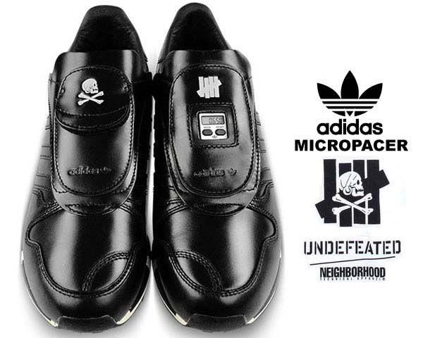 adidas CONSORTIUM x UNDEFEATED x NEIGHBORHOOD MICROPACER  BLACK  (M22693) c3dc47046