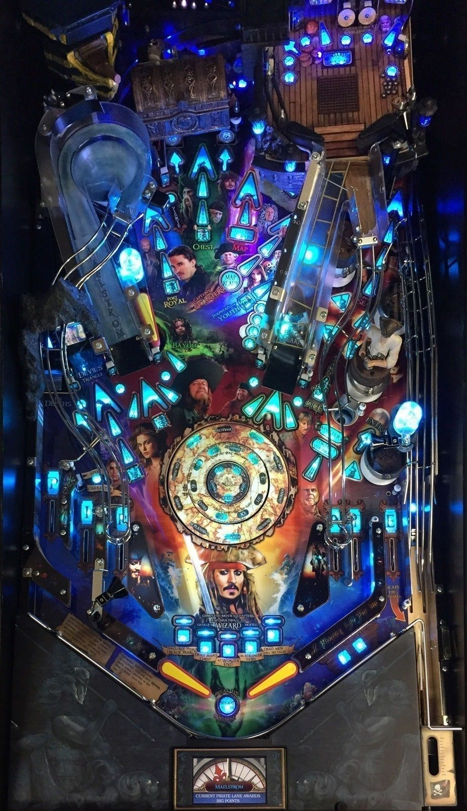 Pin by Steve Kirby on Pinball Pirates of the caribbean