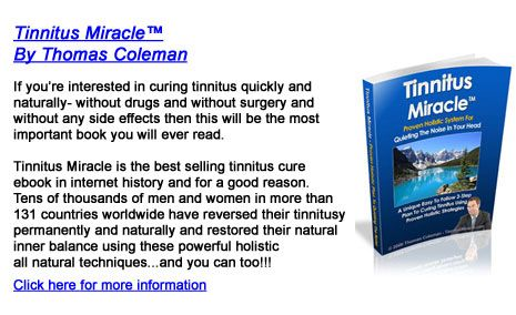 tinnitus miracle (tm) ebook