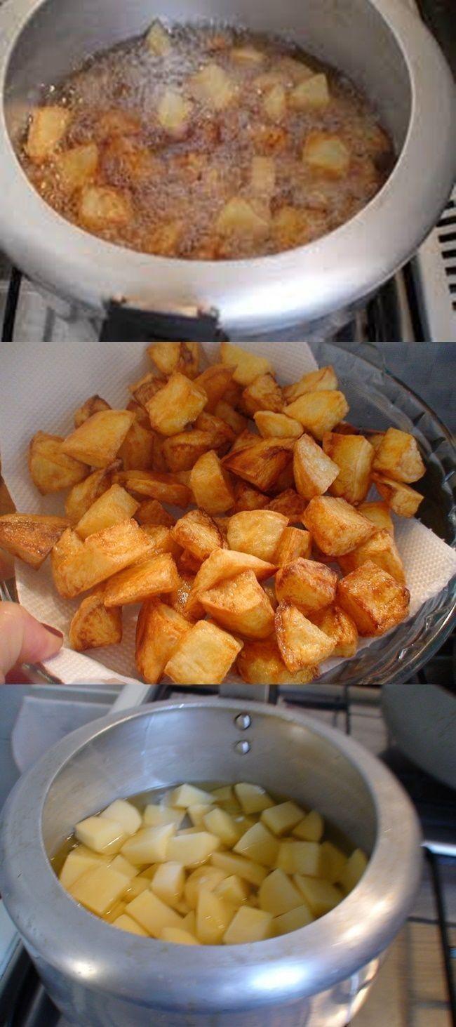 Batata Frita Na Panela De Pressao Receita De Batata Frita
