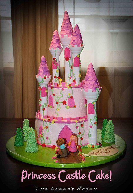 Princess Castle Cake   Castle cake