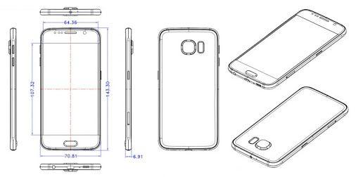 Samsung Galaxy S6 dimensions | Samsung Smartphones ...