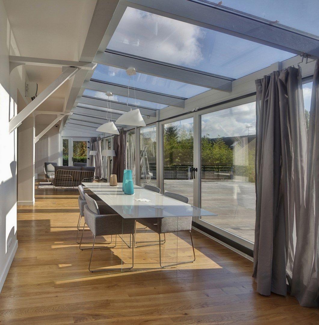 maison renovation luxe veranda boconcept parquet agence avous | Architecte interieur, Maison