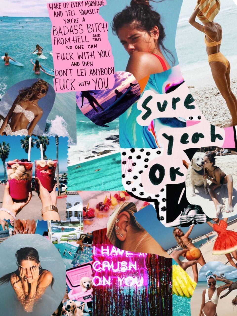 mariaherediacolaco aesthetic collage