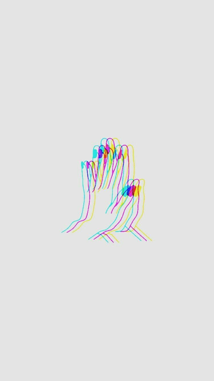 Hands Fondos Iphone Papel Bonitas Ilustraciones Frases Amor