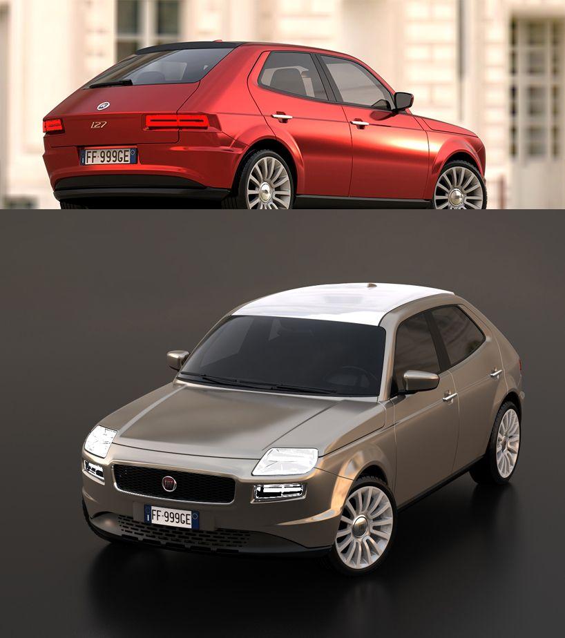 Fiat 127 Concept 5 Door Fiat Suv Suv Car