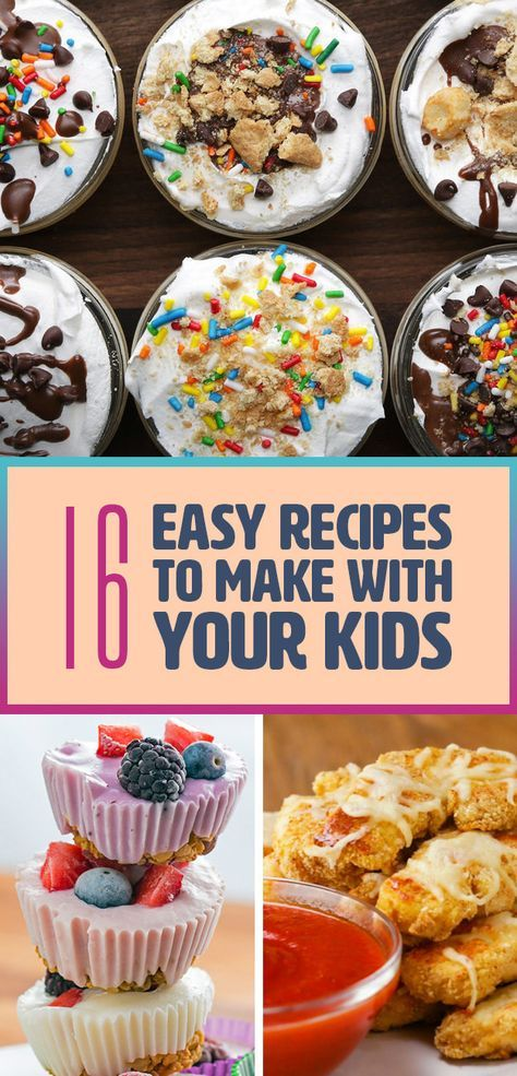 16 Delicious And Fun Recipes You Can Make With Your Kids images