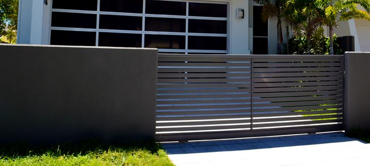 Sliding Gates Aluminium Sliding Gate Landscape Design