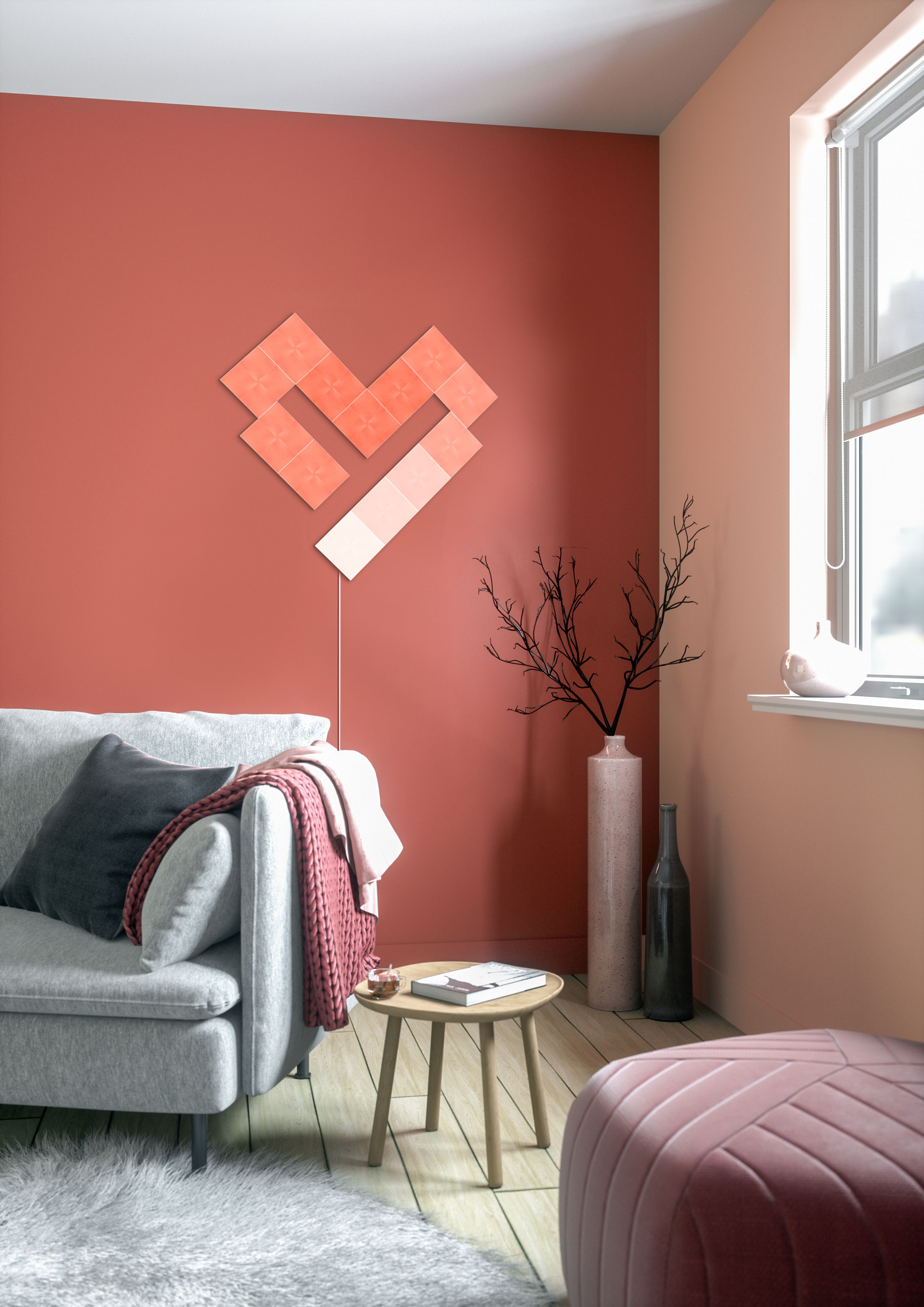 Design Shape Made With Nanoleaf Canvas