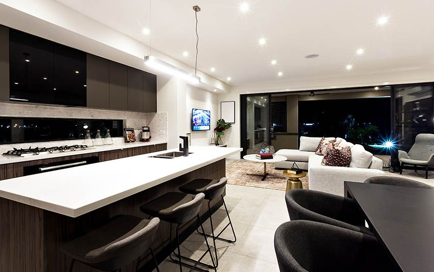 29 Open Kitchen Designs With Living Room With Images Open