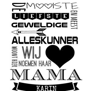 Kado mama of oma - Familieprints