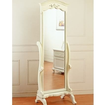 Full Length Mirror French Furniture Bedroom Interior Decor