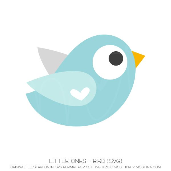 Little Ones - Bird {SVG}