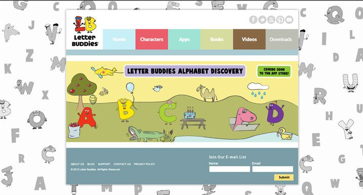 Meet the Letter Bud s Read books free ABC worksheets