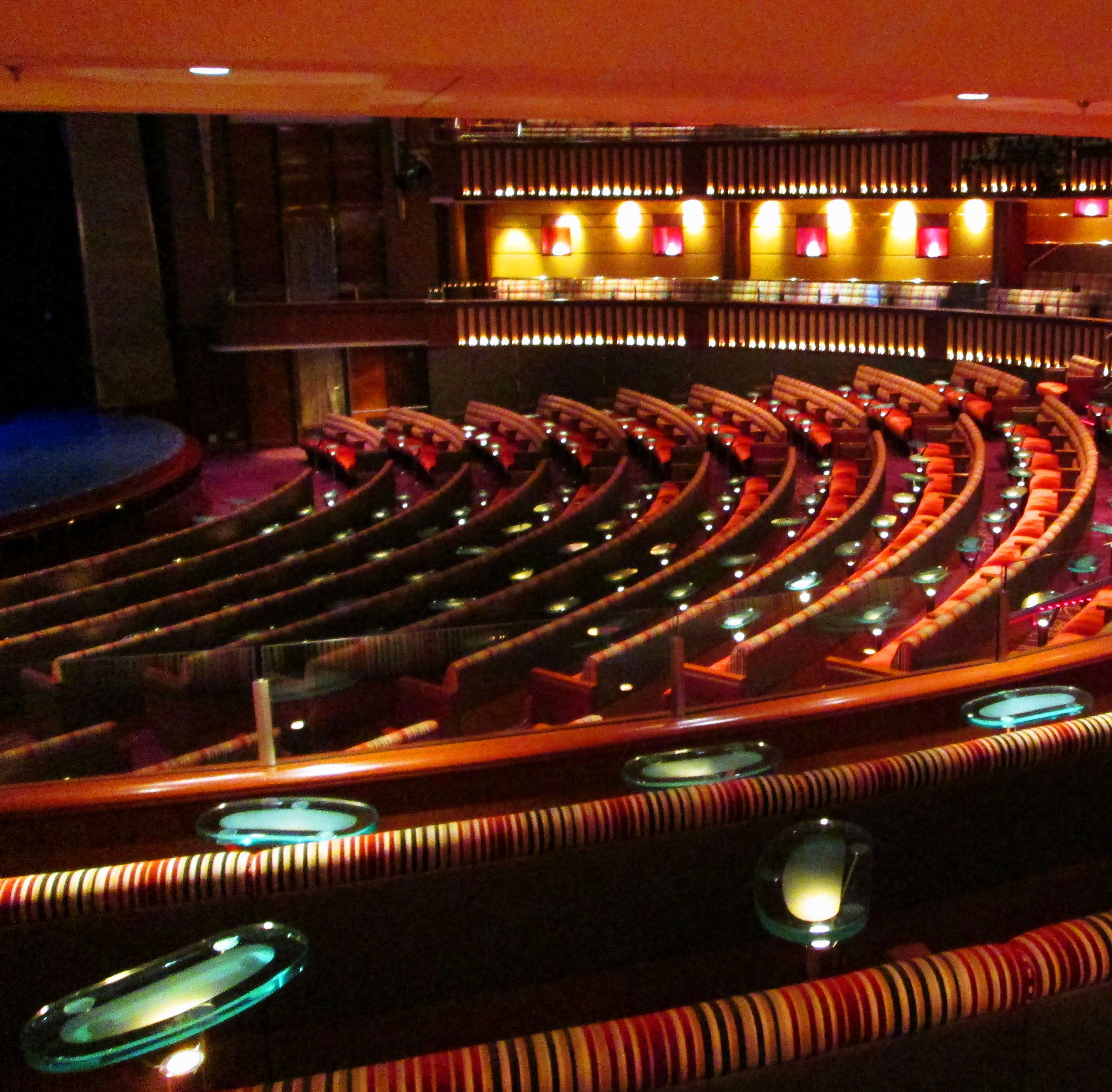 Celebrity theatre best seats