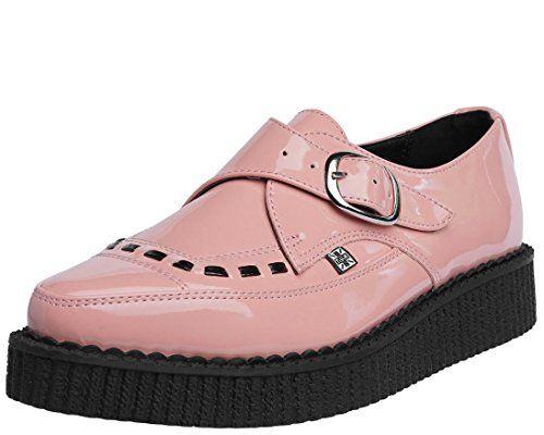 T.U.K. Original Footwear A9028 Monkstrap Creeper ovZLO
