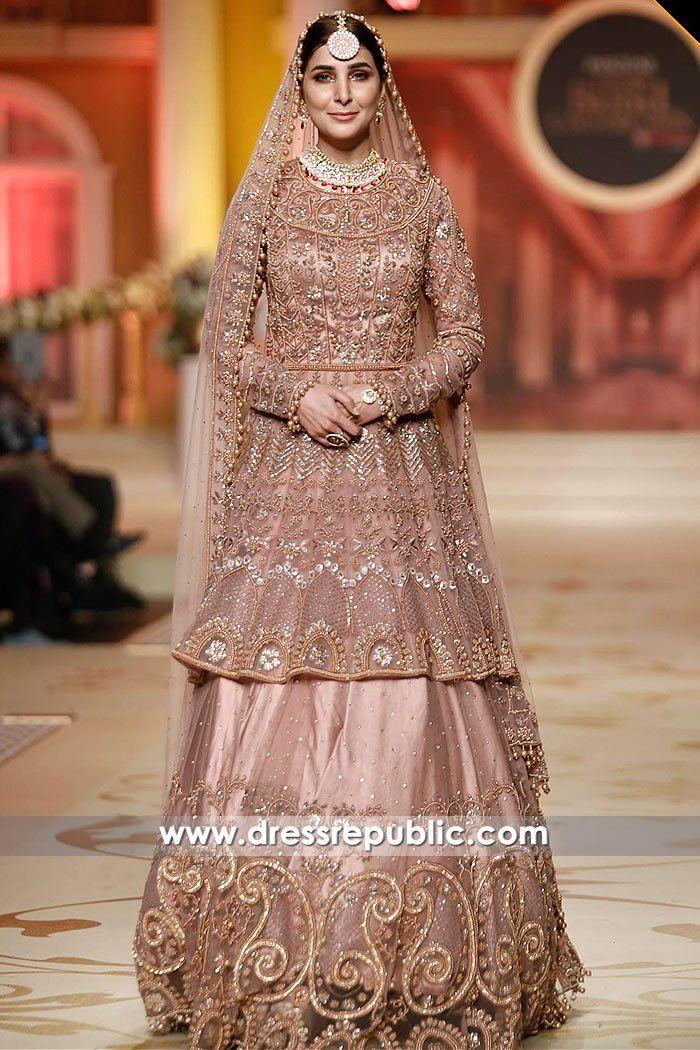 Pakistani Designer Bridal Dresses 2018 USA PHBCW Collection