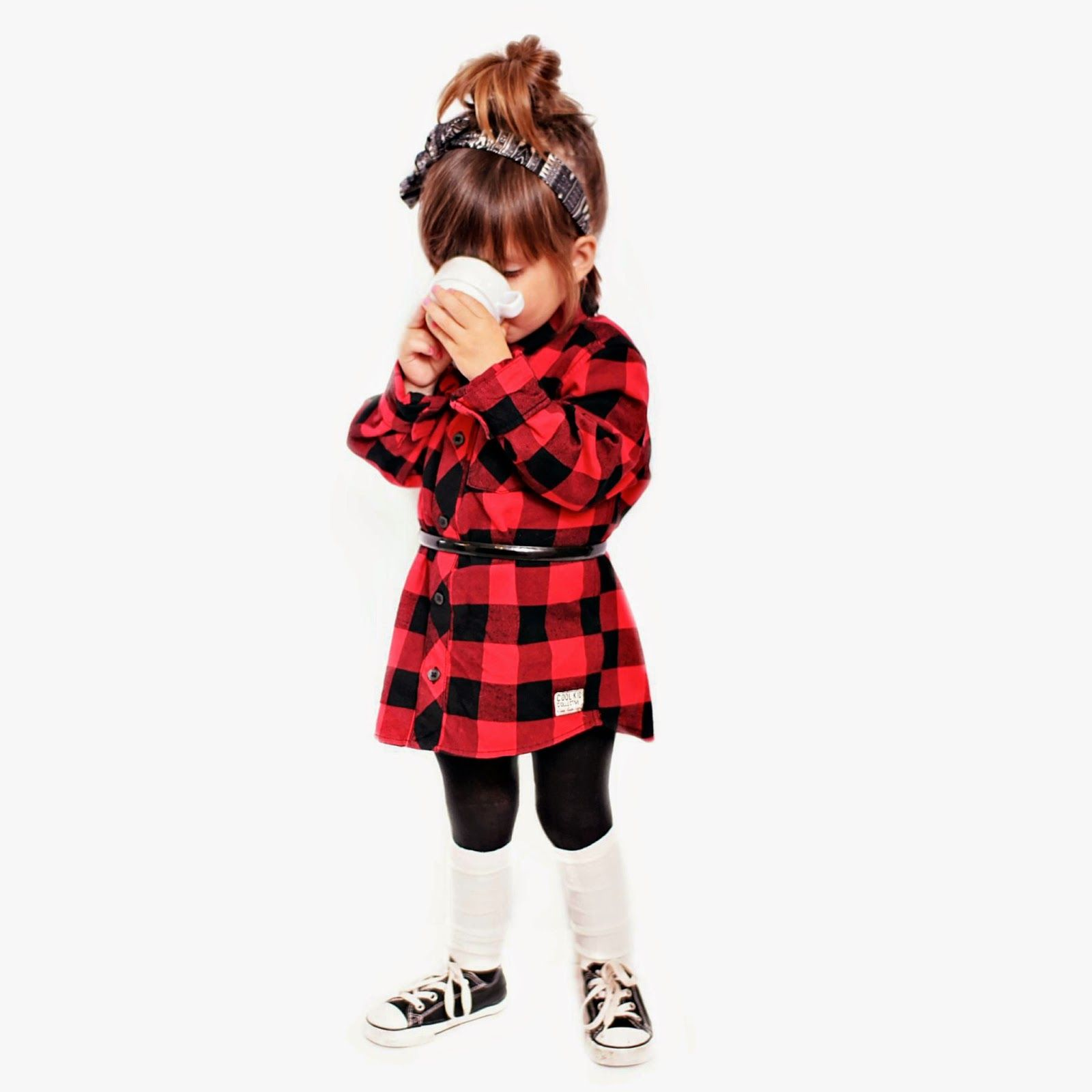 flannel little girls clothes - Google Search
