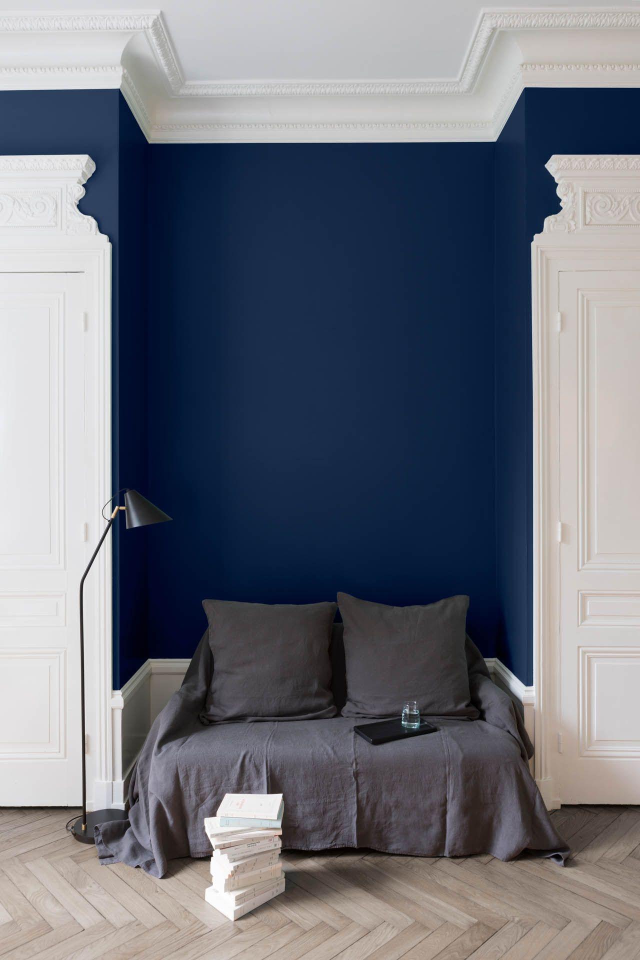 Velours De Peinture Couleur Bleu Vintimille Liberon Chambres Luxueuses Decoration Maison Peinture Bleu