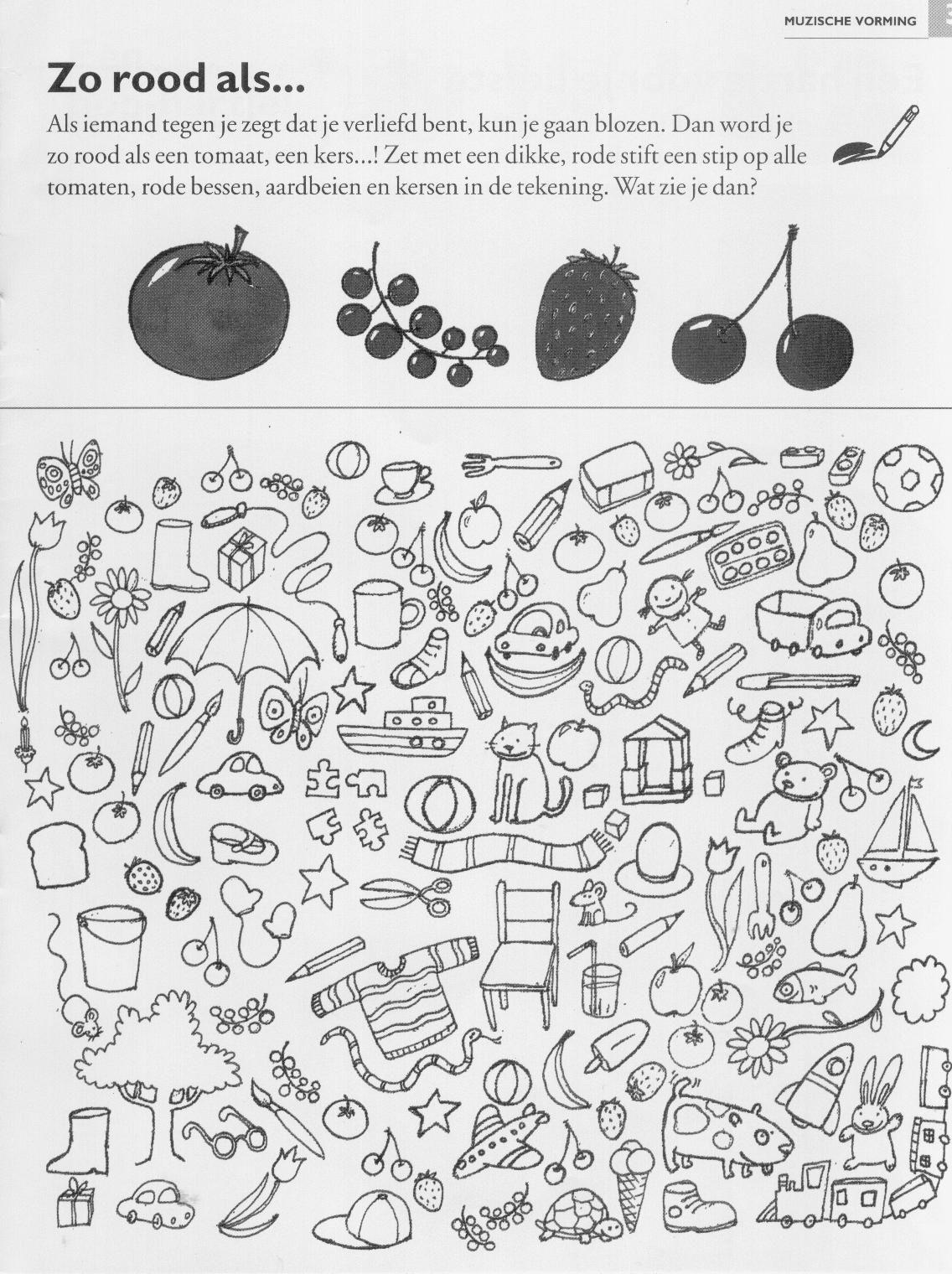Afbeelding Mol Kleurplaat Werkblad Groenten Google Zoeken Thema Fruit Groenten
