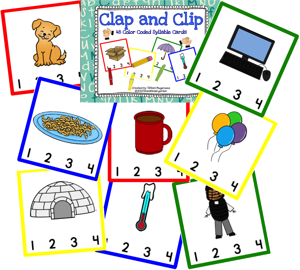 Clap And Clip Syllable Counting