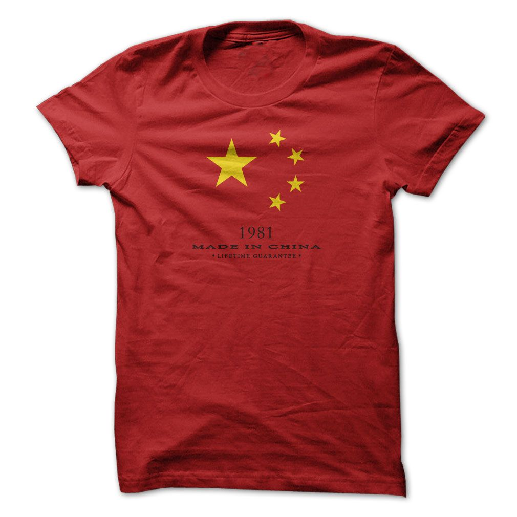 Made In China 1981... #Aged #Tshirt #year